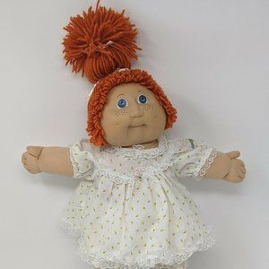 Vintage Jesmar Cabbage Patch Kid Doll Freckles